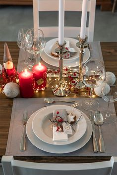 Klassische Weihnachten - New Ideas Xmas, Christmas, Woodworking Crafts, Table Settings, Table Decorations, Diy, Advent, Website, Home Decor