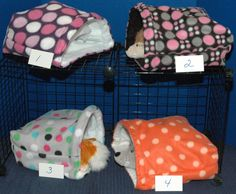 Guinea Pig Snuggle Huts 10x10, 12x13 or XXL 14x15 with or without waterproof pads, nesting, bedding, cavy, fleece by DreamersStudio on Etsy