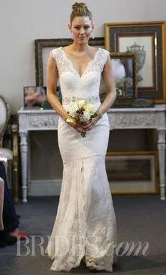 Wtoo VENUS, boho bohemian lace romantic country beach wedding dress low back open back