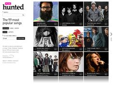 we are hunted (wearehunted.com) I've discovered some really great artists through this site