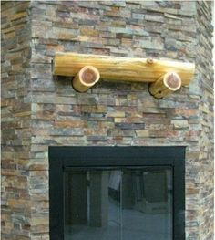 stacked slate fireplaces | ... hearth and a stacked slate stone ...