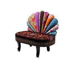 Kare Design - Peacock bench, so kitsch
