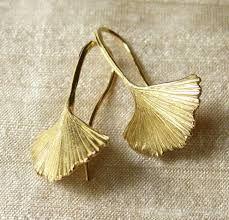 Znalezione obrazy dla zapytania Leaf  Earrings