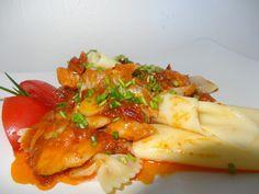 Czary w kuchni- prosto, smacznie, spektakularnie.: Mintaj w sosie pomidorowym Potato Salad, Potatoes, Fish, Ethnic Recipes, Potato, Ichthys