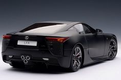 Love the triple exhausts! Lexus have done well on this supercar, but it is still a lexus!