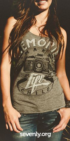 Buy a shirt, fund a photo session for a child battling a serious illness! ► http://www.sevenly.org/?cid=InflPinterest0002Joanna
