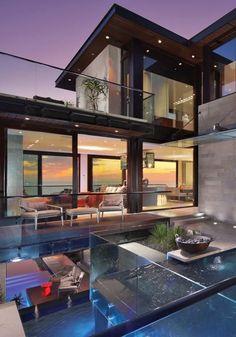 Arquitetura de luxo.