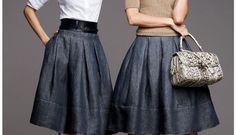 С чем носить платья и юбки в этом году. Отличные примеры — В Курсе Жизни
