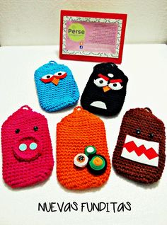 """Phone case crochet amigurumi"" #Amigurumi  #crochet for one of these days when i get ramadan a phone....lol"