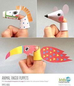 Marionetas Imprimibles  printable muppets