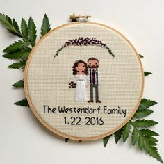 Wedding Cross Stitch Patterns Ideas and Gifts