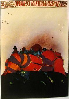 Canterbury Tales, 1976, by Jan Sawka