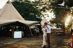 Ivory Tribe Real Wedding - Alyce and George