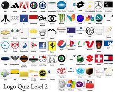 Logo quiz answer for all level, this is the famous logo quiz that has been downloaded a million times by iphone, ipad and ipod gamer this logo quiz game hi