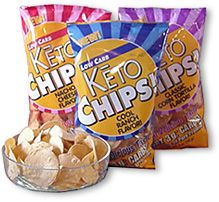 Keto Chips to make low carb nachos!