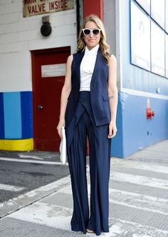 What to Wear to Work Tomorrow: Not exactly sure why but love this outfit! Glamour.com