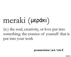 Pitter, patter my heart just skipped a beat.  Yes!  There is such a word which captures & connects these very feelings.