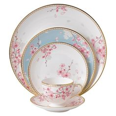 Wedgwood Spring Blossom 5-Piece Place Set