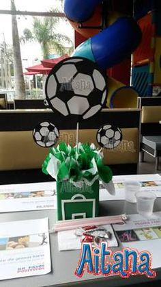 Soccer centerpiece by Aitana