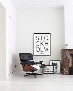 Stockholm Poster  Printable Wall Art Stockholm by CHICxBOUTIQ