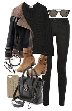 """""""Inspired with a woolen sweater"""" by nikka-phillips ❤ liked on Polyvore featuring Proenza Schouler, Acne Studios, Marc by Marc Jacobs, Yves Saint Laurent, 3.1 Phillip Lim, RetroSuperFuture, Shamballa Jewels and Identity"""