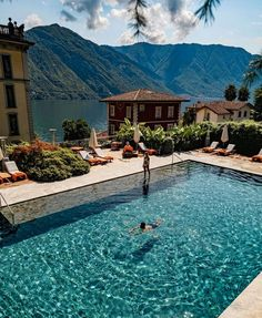 """John Yunis on Instagram: """"We need something extra calming today, like these two gorgeous pools, with their breathtaking views, at @ghtlakecomo Photos by…"""" Vacation Places, Italy Vacation, Vacations, Road Trip France, Explore Travel, Lake Como, Grand Hotel, Destinations, Places To Visit"""