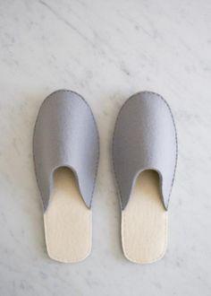 Stacked Felt Slippers | Purl Soho