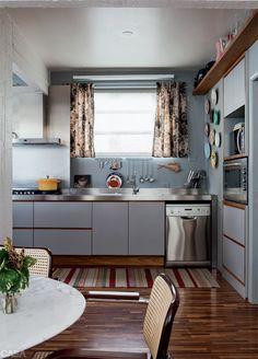 Salas lindas para reunir os amigos, cozinhar e conversar - Casa
