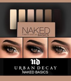 Kenzar Sims: Urban Decay Basics eyeshadow • Sims 4 Downloads