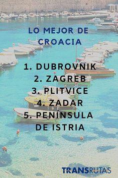 Descubre Croacia #conTransrutas