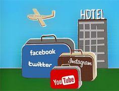 Molti hotel hanno un pagina fan su Facebook (anche se talvoltanon sanno come usarla), altri hanno avuto il coraggio di aprire un account su Twitter o