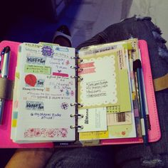 Come on 5 o'clock! #pink #filofax #love | Flickr - Photo Sharing!