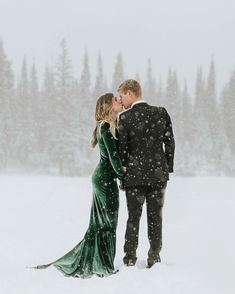 Winter Pine Wedding
