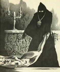 Arte Horror, Horror Art, Dark Fantasy Art, Dark Art, Evil Art, Arte Obscura, Occult Art, Sword And Sorcery, Goth Art