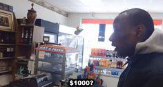 Homem prega pegadinha generosa a sem-teto; assista.