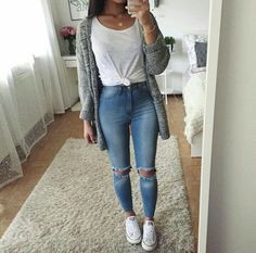 41 Cute Spring Outfits Ideas For Teens Cute Fall Outfits Casual 49 Cute Spring Outfits To Co. Cute Party Outfits, Cute Summer Outfits, Cute Casual Outfits, Spring Outfits For School, Casual Shirt, Outfit Summer, Autumn Outfit For Teen Girls, Summer Clothes, Fall Outfit Ideas