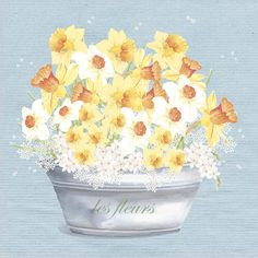 Beautiful Spring floral card.