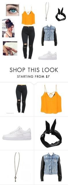"""ready for summer#1"" by kayltjevds05 on Polyvore featuring mode, MANGO, NIKE, Boohoo en rag & bone"