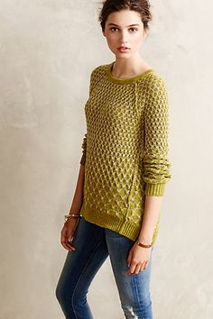 Get an EXTRA 30% off this Sale Item with the code: EXTRAMERRY - Dot-Dot Pullover #anthropologie