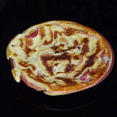 Recept Jablečná omeleta od Jan Stříbrný - Recept z kategorie Hlavní jídla - vegetariánská Pancakes, Breakfast, Food, Morning Coffee, Essen, Pancake, Meals, Yemek, Eten