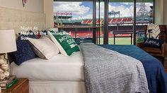 The airbnb ad for the Fenway Park sleepover. (Image credit: Airbnb-Boston Red Sox)