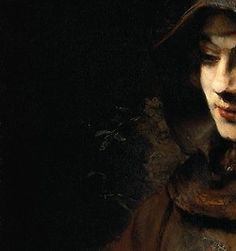 #Rembrandt. Love the juxtaposition of light and dark