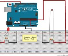 Arduino - Sensor Light with and Led