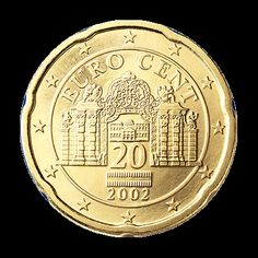 Austria: 20 Euro Cent Coin (National Side)