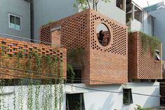 VH House / ODDO architects Brick Architecture, Contemporary Architecture, Interior Architecture, Brick Wall Decor, Luz Natural, Architect House, Traditional House, Facade