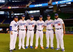 2017 Dodger All-Stars, pic via Dodgers on twitter.