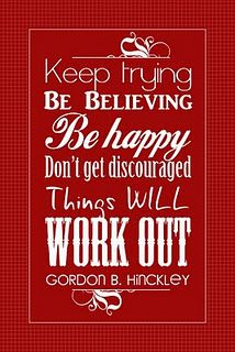 A President Hinckley quote