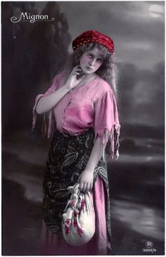 Lovely Vintage Gypsy Photograph!