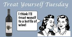 Treat Yourself Tuesday- treat yourself to a bottle of Chateau Morrisette wine! #Wine #Virginia #VirginiaWine #ChateauMorrisette