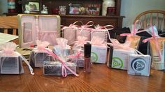 Mary Kay game prizes and gift with purchase ideas.